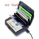 Αντικλεπτικό Πορτοφόλι τσέπης για κάρτες με power bank