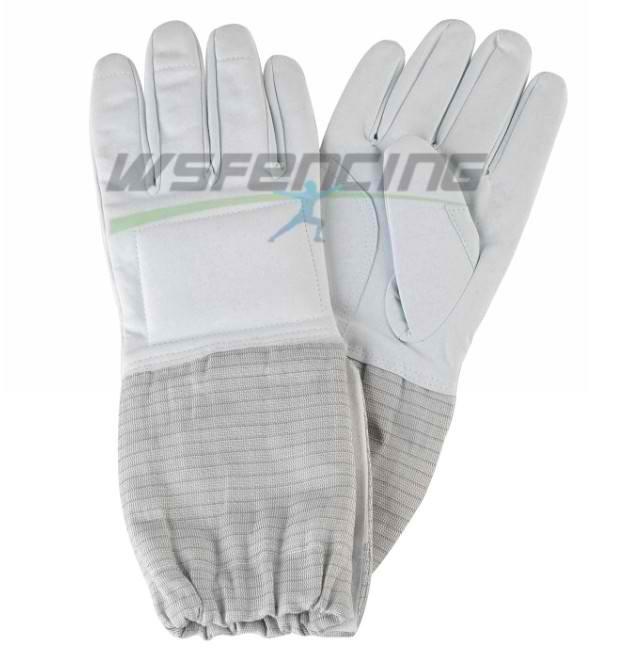 Σπάθη (Sabre) γάντι με ηλεκτρικό ύφασμα προπόνησης