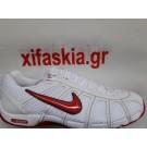 Παπούτσια ξιφασκίας NIKE Άσπρο Κόκκινο