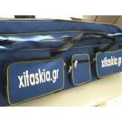 Τσάντα τροχήλατη μεγάλη με δύο θήκες