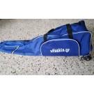 Τσάντα τροχήλατη μεσαία με μεταλλικό τροχό με μία θήκη
