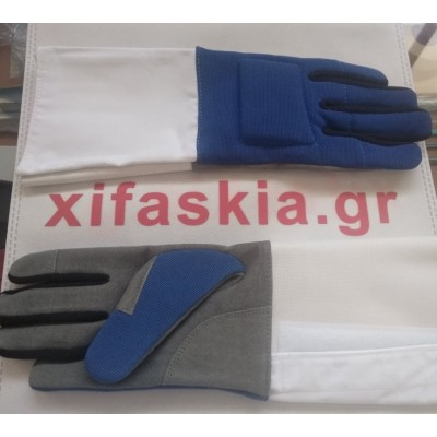 Γάντια Παιδικά Υφασμάτινα με δέρμα