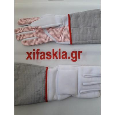 Σπάθη (Sabre) γάντι με ηλεκτρικό ύφασμα 800 NW FIE