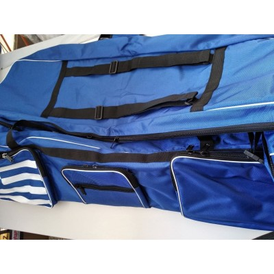 Τσάντα τροχήλατη μεγάλη με δύο θήκες και αποσπώμενη θήκη σπαθιών